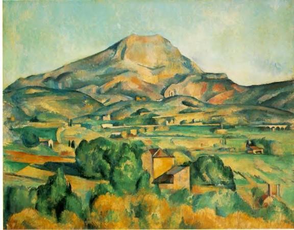 Paul Cezanne, La Montagne Sainte Victoire