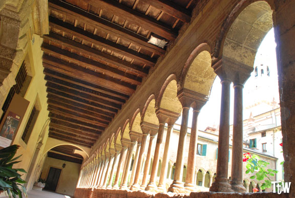 Duomo di Verona, il chiostro