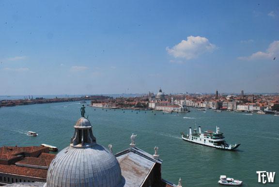 Venezia dall'alto del campanile di San Giorgio Maggiore