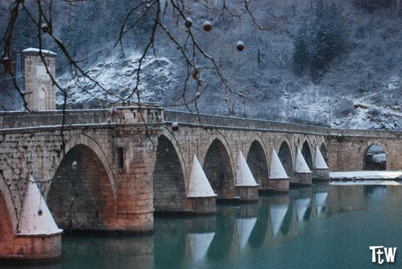 Il ponte sulla Drina a Visegrad - Bosnia Erzegovina