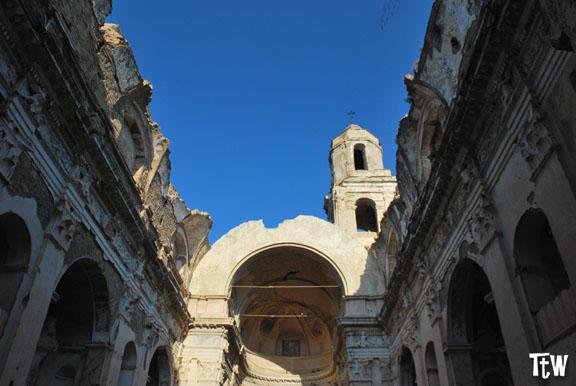 La chiesa di Bussana Vecchia