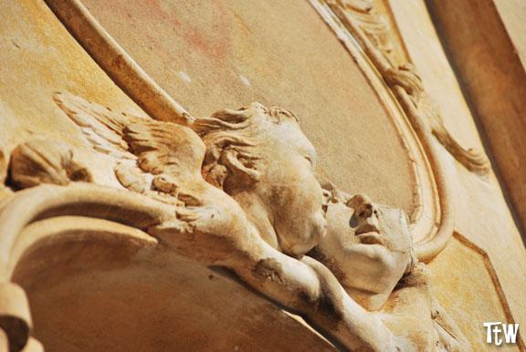 Bussana Vecchia, particolare della chiesa
