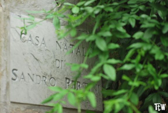 Casa natale di Sandro Pertini a Stella San Giovanni (Savona)