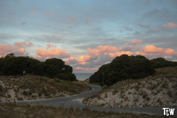 Rottnest Island al tramonto
