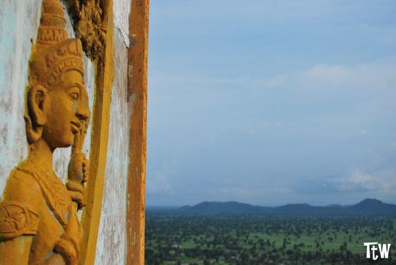 Phnom Sampeau, Battambang - Cambogia