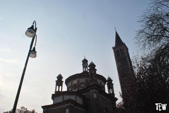 Cappella Portinari dall'esterno