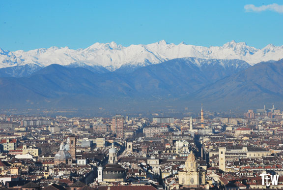 Panorama di Torino dalla Mole Antonelliana