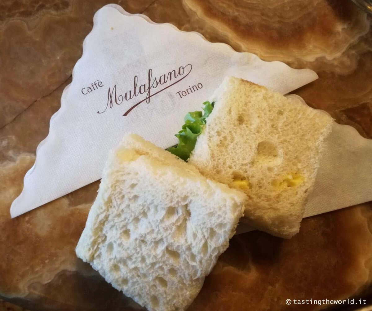 I tramezzini del Caffè Mulassano di Torino