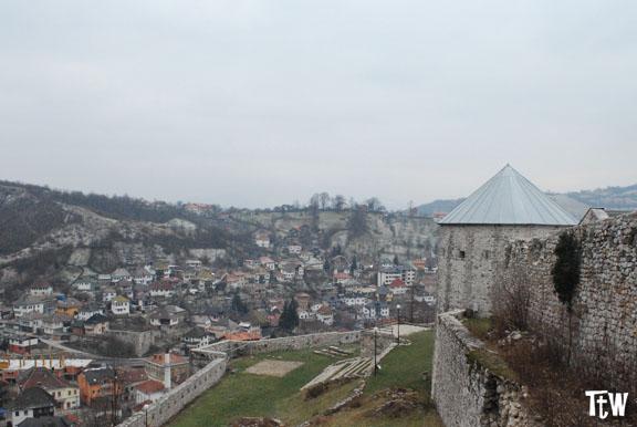 Travnik, Bosnia Erzegovina - castello medievale