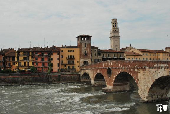 I ponti di Verona più belli: ponte Scaligero e ponte Pietra