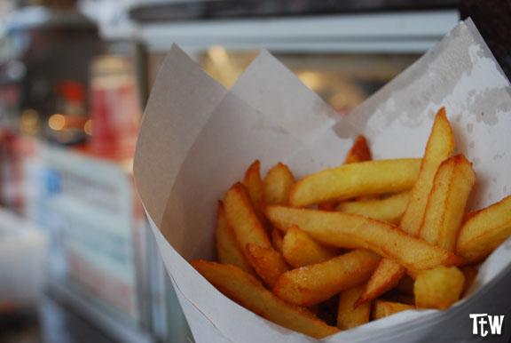 Patatine fritte Bruxelles - Maison Antoine