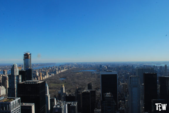 New York dall'alto - Top of the Rock