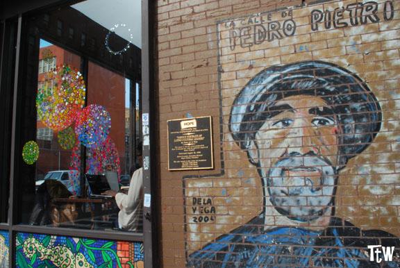 Murales di James de la Vega, New York