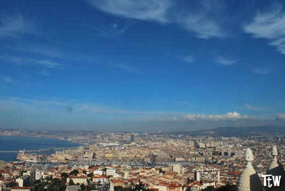Marsiglia, la vista da Notre Dame de la Garde