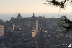Genova dall'alto - Spianata Castelletto