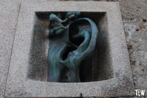 Palazzo con l'orecchio a Milano - palazzo Sola-Busca