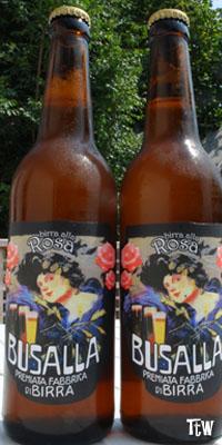 Birra alla Rosa, Fabbrica della Birra - Busalla (GE)