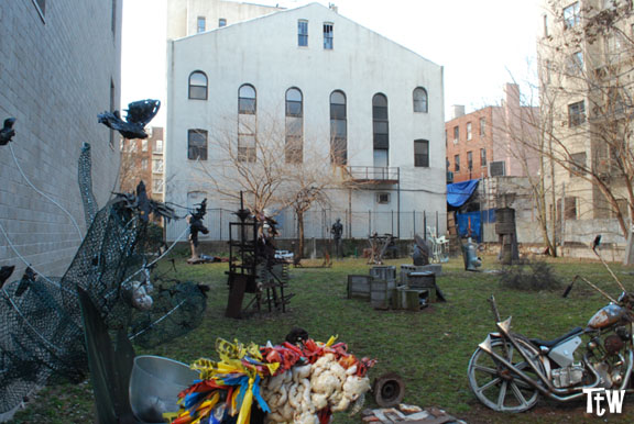 Alphabet City, community gardens (New York)