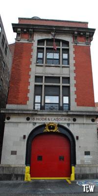 La caserma dei Ghostbusters a New York - Hook and Ladder n. 8