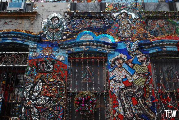 New York, Brooklyn - casa dei mosaici di Susan Gardner