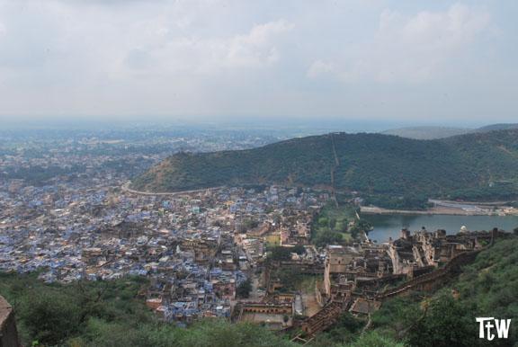 La vista su Bundi dal Taragarh - Rajasthan