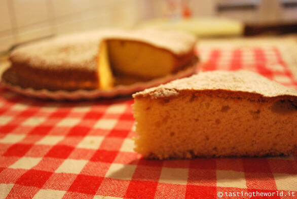 Torta Paradiso originale (Vigoni, Pavia)