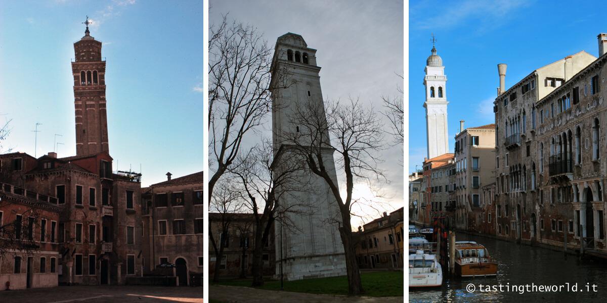Campanili storti Venezia