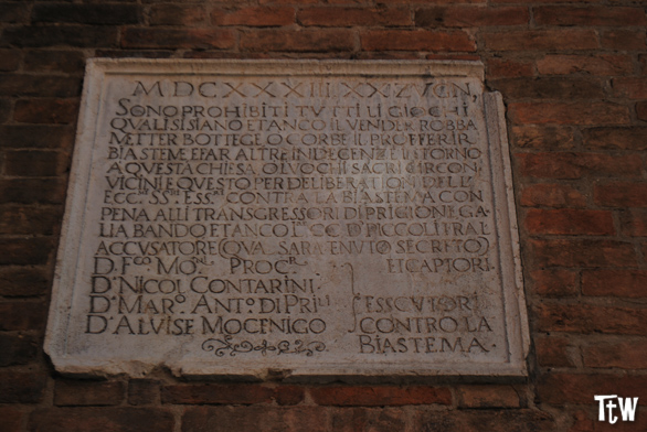 Esecutori contro bestemmia - Venezia