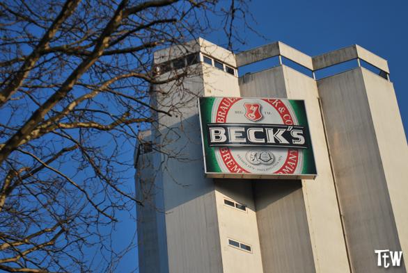 La fabbrica della Beck's a Brema