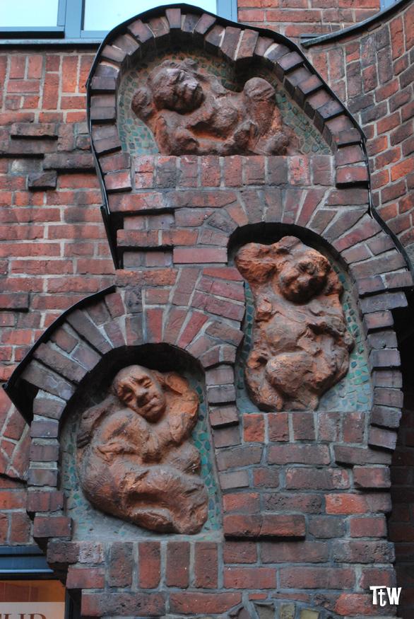 La fontana dei 7 fratelli pigri a Brema
