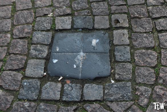 La pietra dello sputo, Brema