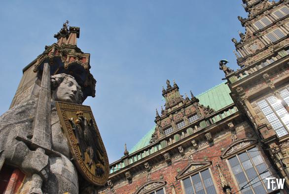 Brema: la statua di Rolando