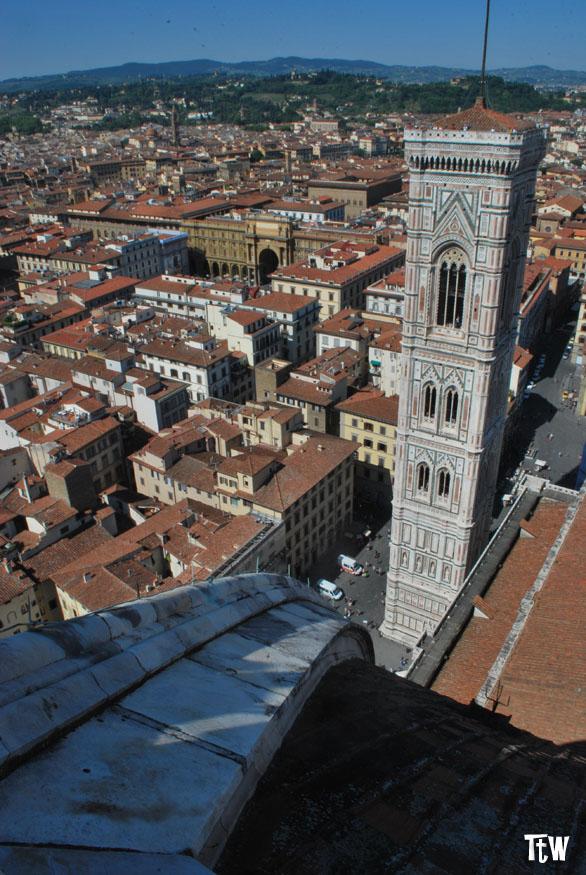La vista di Firenze dalla Cupola del Duomo