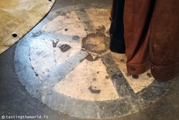 La pietra dello scandalo nella loggia del mercato nuovo, Firenze