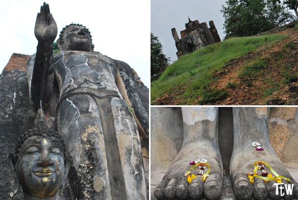 Wat Saphan Hin, Sukhothai