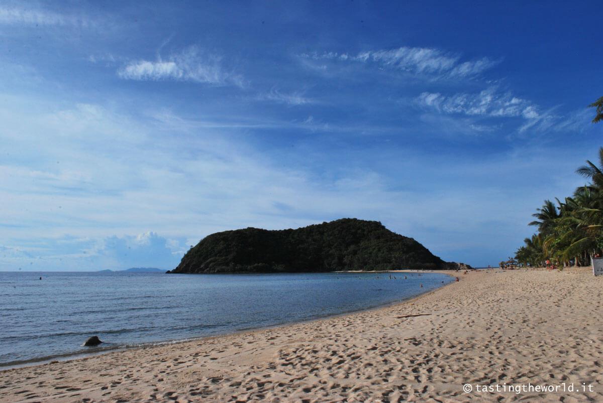 Ko Phangan, spiagge