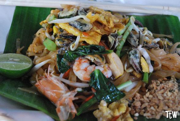 Pad Thai, piatto nazionale thailandese