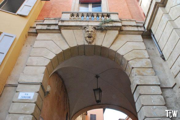 Via Zamboni e Ghetto di Bologna