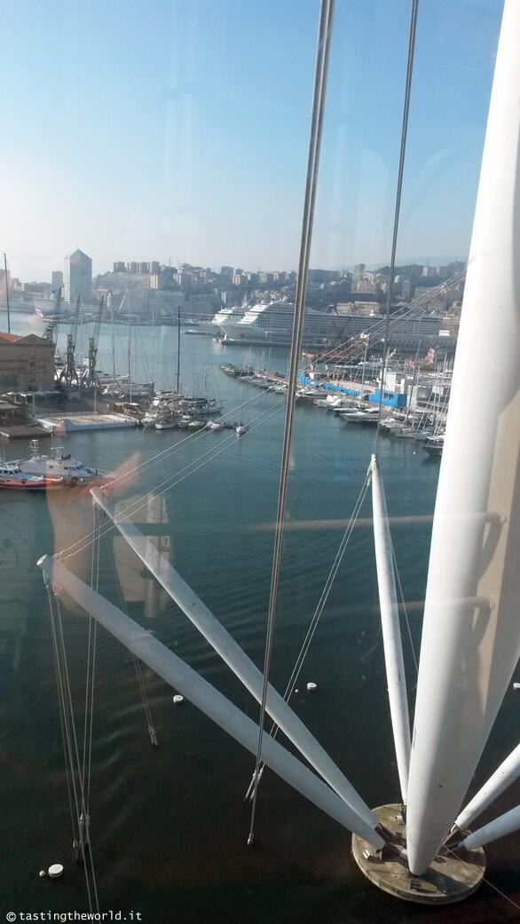 Vista di Genova dal Bigo