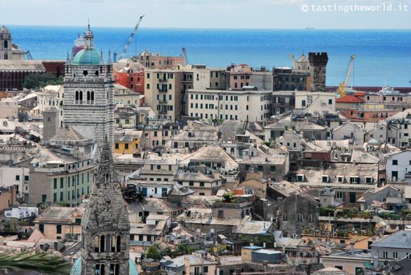 Vista di Genova da Spianata Castelletto