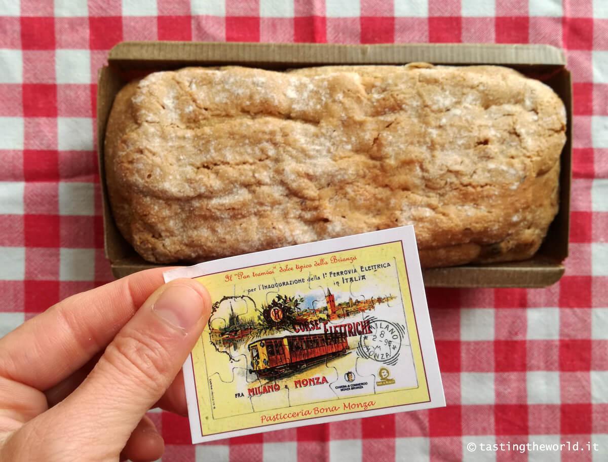 Pan Tramvai, il dolce di Monza e Brianza