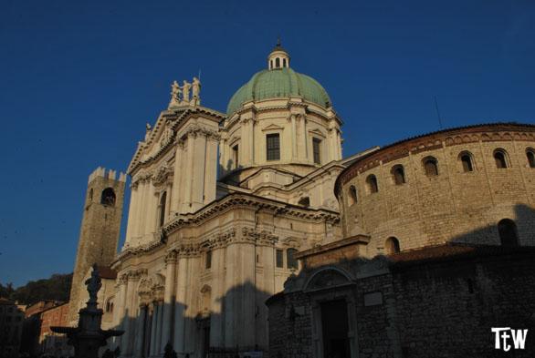 Brescia: duomo vecchio e nuovo