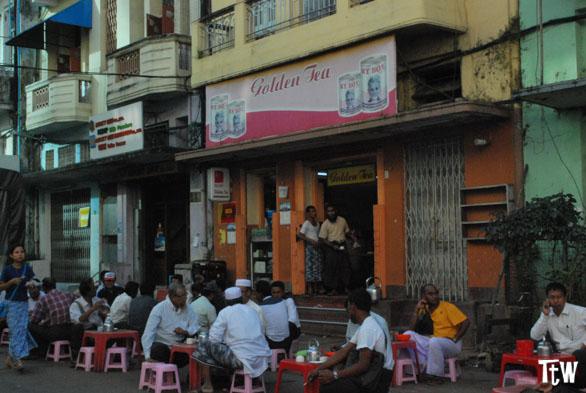 Casa da tè, Yangon