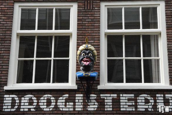 The yawner gable stone, Amsterdam