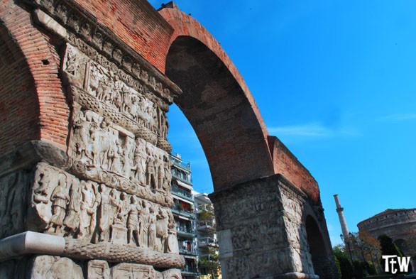 Arco di Galerio (Kamára), Salonicco
