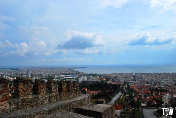 Salonicco dall'alto