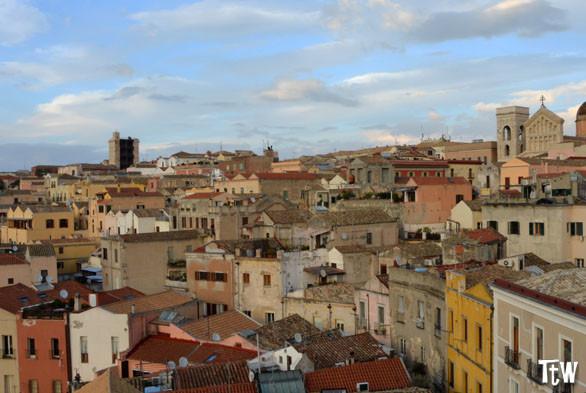 Cagliari dall'alto