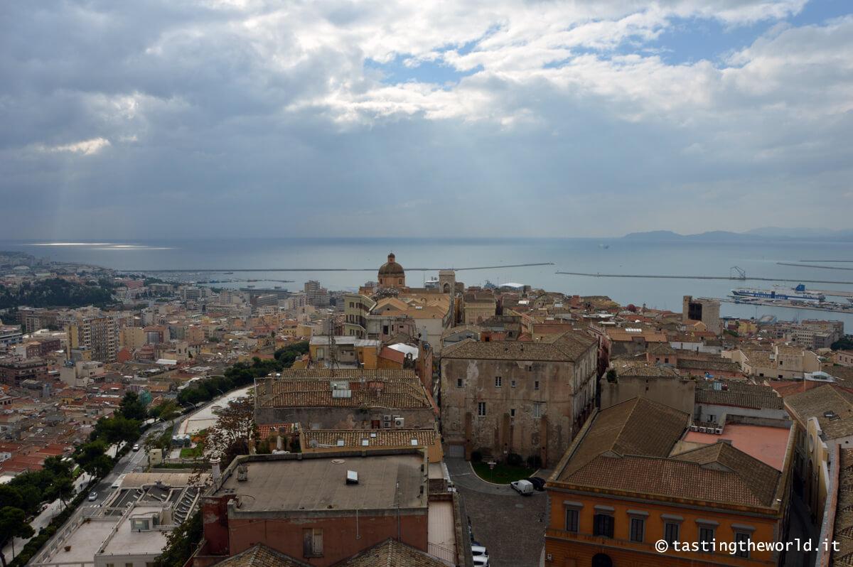 Cagliari dall'alto - vista dalla Torre di San Pancrazio