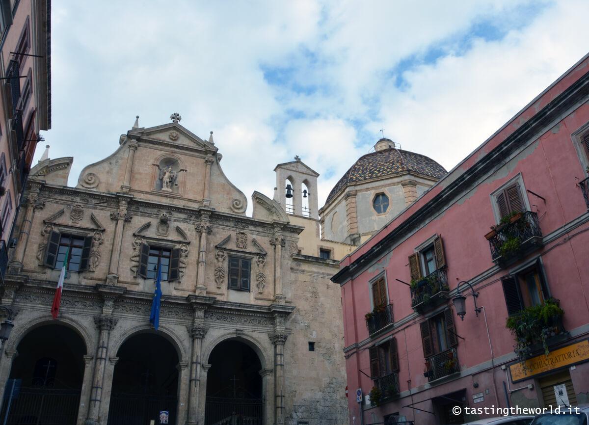 Un scorcio del quartiere Stampace, Cagliari