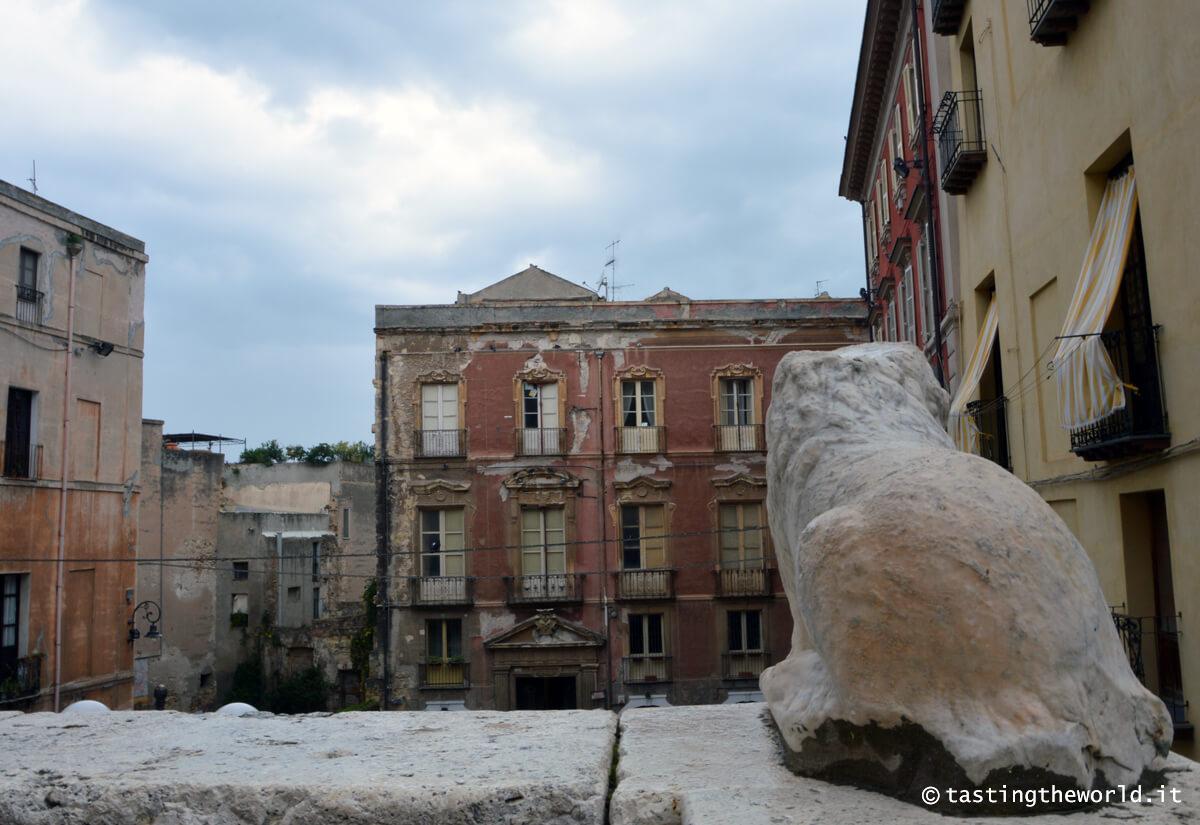 Quartiere Castello, Cagliari - lo slargo davanti alla cattedrale